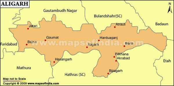 Aligarh  phone numbers DM, SP, DIG, DSP, Police Stations