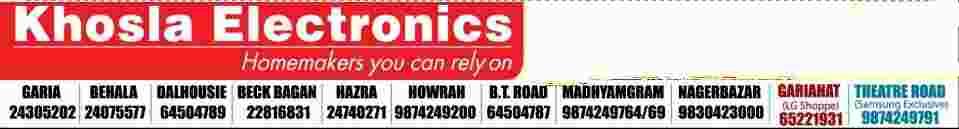 Khosla Electronics Kolkata Phone Number